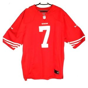 Authentic On Field Colin Kaepernick 49ERS JERSEY